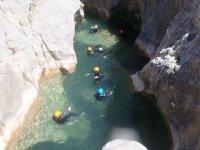 Barranquismo acuatico