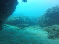On the seabed of the Mediterranean