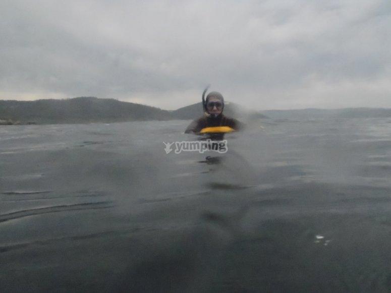 Pesca submarina en Viveiro