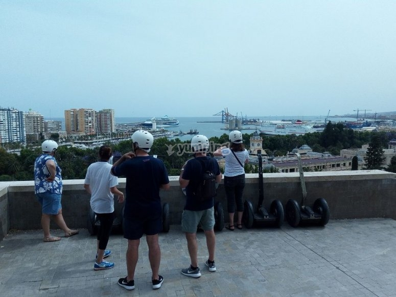 Observing the port
