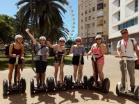 Starting the Segway route