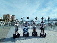 A beautiful segway tour in Malaga