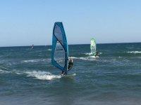 Windsurf en las costas de Barcelona