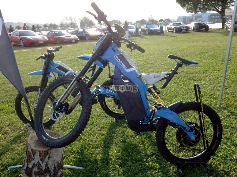 Monta en la Bultaco Brinco