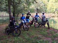 Ruta en Bultaco Brinco acantilados de Langre 3h