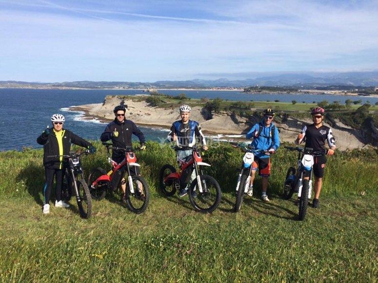Group on Bultaco Brinco bikes