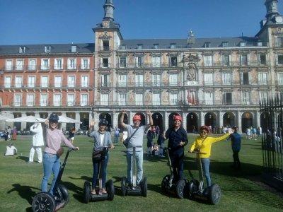Tour en segway y noche de hotel en Madrid 1 hora