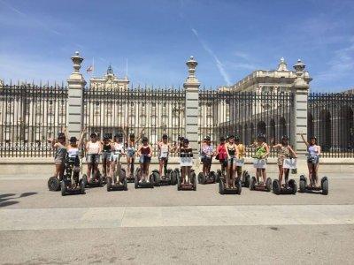 Ruta en segway y visita Spa Hamman Madrid 2h 30min