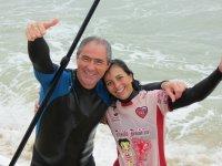 con el paddle surf solo cabe la alegria !!