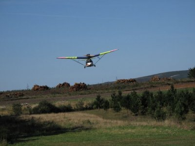 45-minute ultralight aircraft experience in Tuy