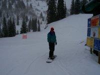 ven a practicar snowboard