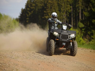 1-hour quad ride on Sar region