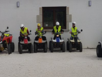 2-hour quad ride in Padrón