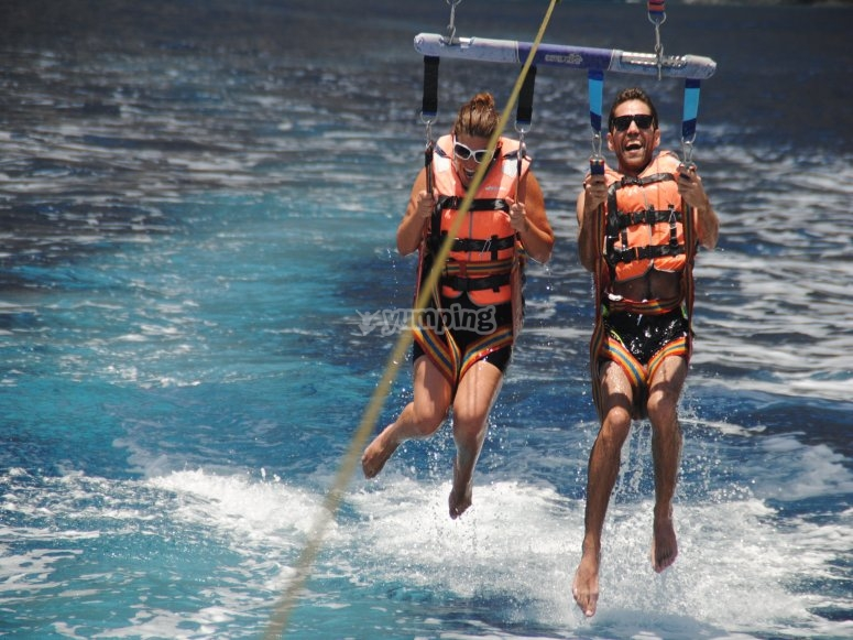 Parasailing for two