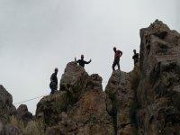 Sobre las rocas