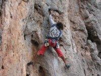 Corso di arrampicata su roccia di 4 ore