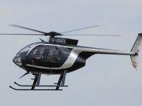 Helicoptero en servicio de lujo