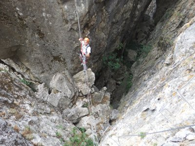 2-Hour Via Ferrata Tour in Benalauria