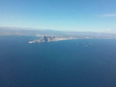 Volar en helicóptero Estrecho de Gibraltar 50 min