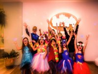 Unforgettable costume party