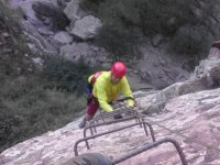 Advanced Level Via Ferrata, Andilla, K4