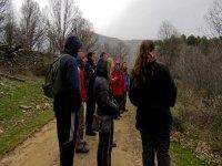 Aprendiendo sobre el sendero y la fauna