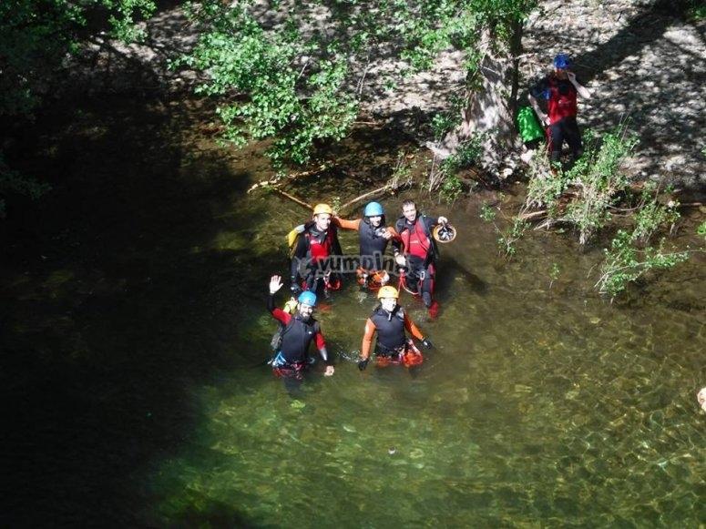 Enjoy canyoning