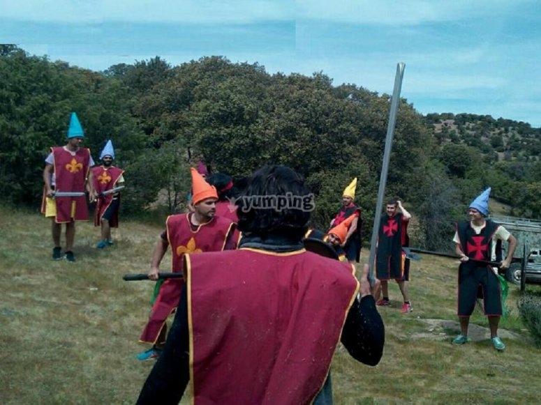 Batalla medieval