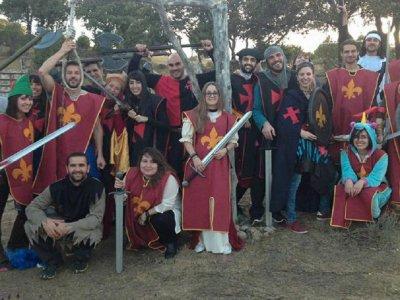 Juegos del Hambre en el bosque en Madrid 2-3 horas