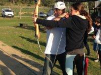 Cercando fortuna con il tiro con l'arco