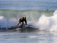 esperto di paddle surf