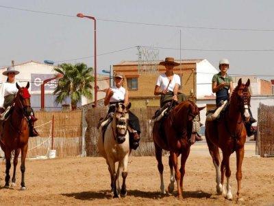 在Hinojosa del Duque骑马2小时30分钟