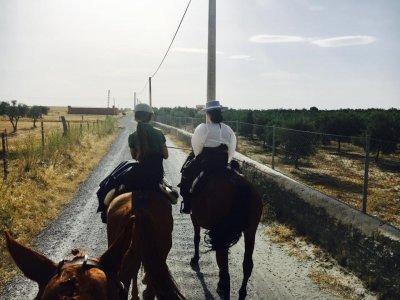 Hinojosa del Duque骑马和午餐90分钟