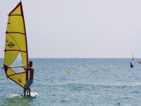 风帆冲浪运动