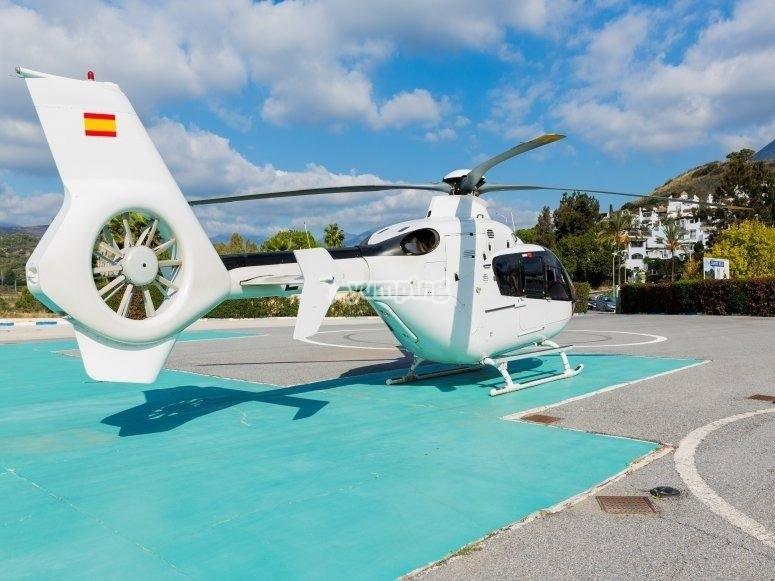 Helicoptero biturbina