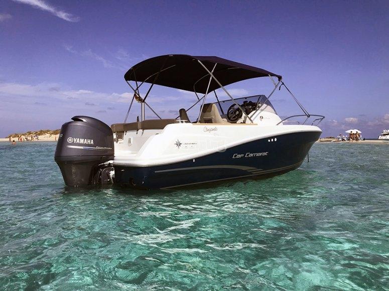 Alquiler de barco en Ibiza 9 horas
