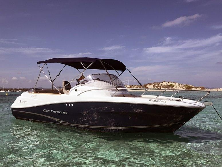 Alquiler barco en Ibiza sin patrón