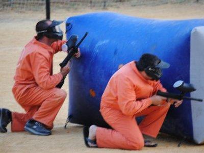 Alquiler campo de paintball portátil en Alpujarra