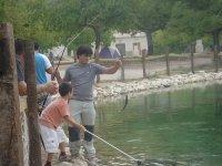 在我们的设施钓鱼