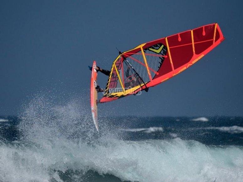 Windsurf en Gran Canaria