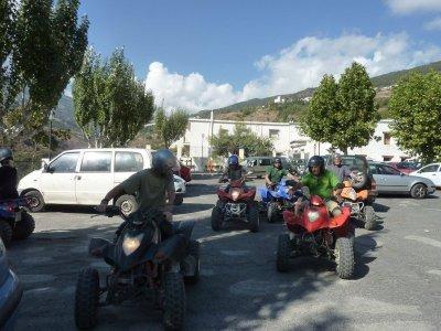 Paseo en quad biplaza por Junta de los Ríos 90 min