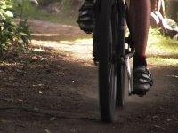 Recorrido en mountain bike