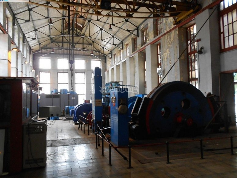 Maquinaria de la mina