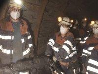 Mineros en el Pozo Soton