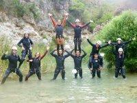 Descenso de barranco en Parque Natural de Cazorla