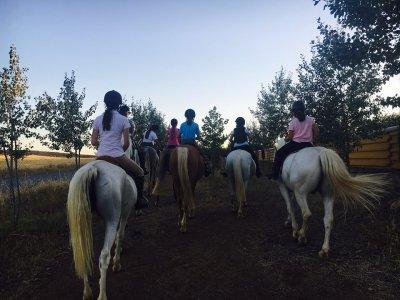骑马和午餐Hinojosa del Duque 5h