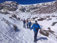 1-Day Snow Rackets Route in Pineta's Valley