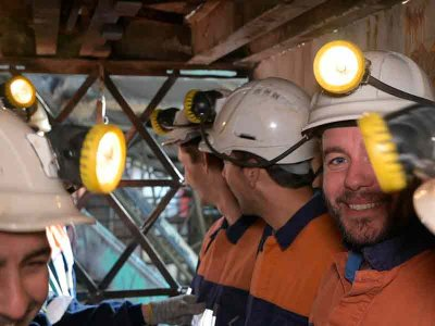 Visit a royal mine for students