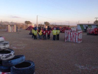 Juegos temáticos paintball kid en Alhama de Murcia