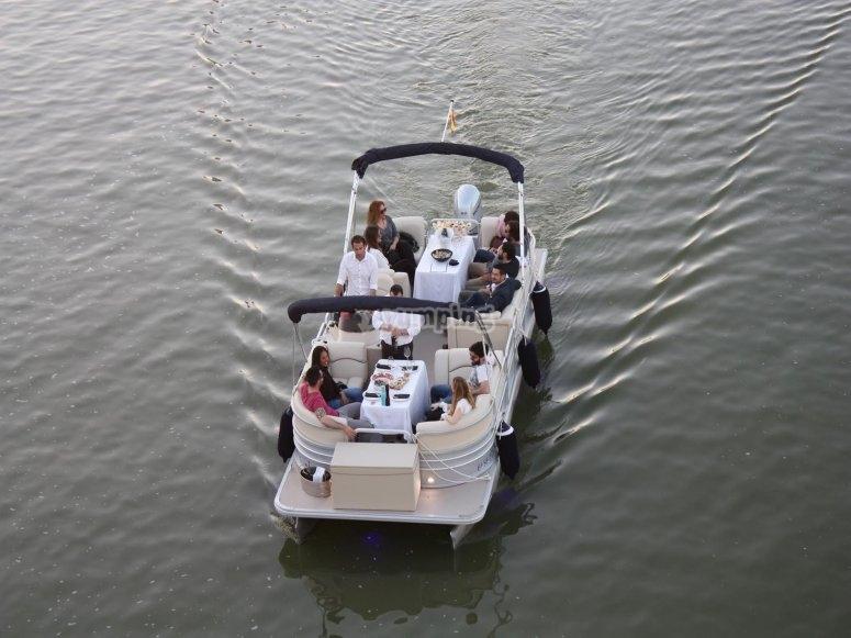 Gita in barca sul Guadalquivir